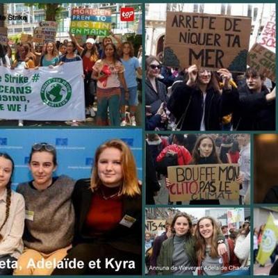 Adolescentes activisme et ecologie
