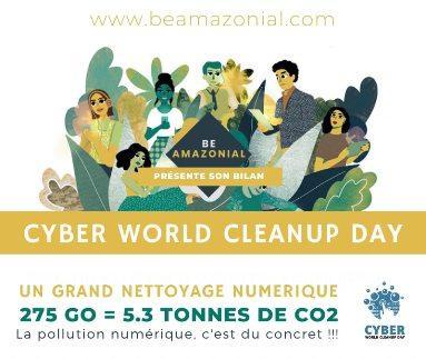 Infographie Grand Ménage Numérique de Be Amazonial